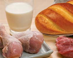 Картинки по запросу картинки  мясо, молоко  и хлеб