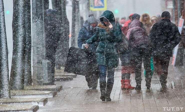 В Беларуси сегодня объявлен оранжевый уровень опасности