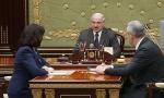 Александр Лукашенко, 10 декабря, встреча, Игорь Сергеенко, Наталья Кочанова, Путин, Медведев