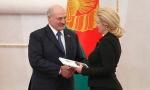 Александр Лукашенко и Алла Бадак