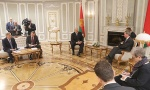 Александр Лукашенко, 18 февраля, встреча, ЕС, Беларусь, Гюнтер Эттингер