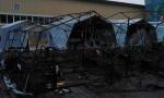 ЧП в России: сгорел детский палаточный лагерь, Холдоми, СК, пожар в лагере