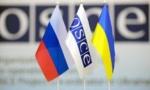 флаги Украины, ОБСЕ и России