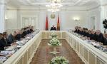 Лукашенко, Кобяков, доклад, совещание, ВВП