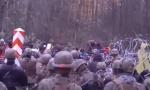 Польша, Беларусь, нелегальные, мигранты, нелегалы, ранены, солдаты, граница, пограничники, штурм, атака, военнослужащие, погранслужба, травмы, пограничники