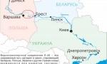 карта Припяти