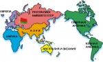 Беларусь на карте
