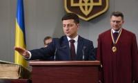 Владимир Зеленский принимает присягу