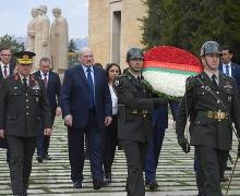 Александр Лукашенко, официальный визит в Турцию, 16 апреля, Эрдоган, переговоры,  Аныткабир, Мавзолей Ататюрка,