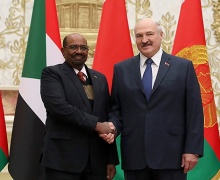 Лукашенко с Омаром Хасаном Ахмедом аль-Баширом