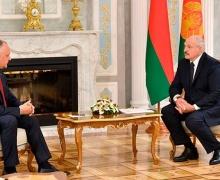 Додон и Лукашенко. Фото пресс-службы президента Беларуси