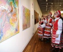 Выставка «От Лиссабона через Минск, Москву, Астану до Владивостока», культура открылась в Астане