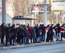 На акциях 23 января в Беларуси задержано более 150 человек
