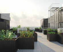 На крыше главного офиса А1 в Минске разобьют огород