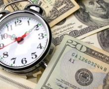 доллары и будильник