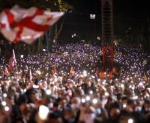 Саакашвили, Михаил, Грузия, Тбилиси, президент, экс-президент, политик, акция, митинг, поддержка, освобождение, партия, выборы, мэр, письмо, тюрьма, выступили
