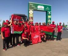 Белорусы на МАЗе впервые в истории стали чемпионами международного ралли