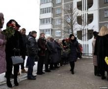 убийство, Столбцы, похороны, школа №2