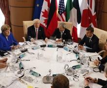 Большая, семерка, G7, Лондон, коммюнике, Беларусь, встреча, ситуация, новые, президентские, выборы, диалог, власти, оппозиция, заключенные, человек, права