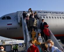 Первый самолет из Москвы после пандемии приземлился в Национальном аэропорту Минск