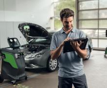 Bosch Connected Repair, авто