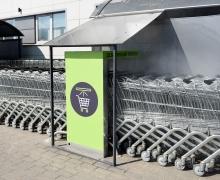 «Евроопт» установил оборудование для дезинфекции покупательских тележек