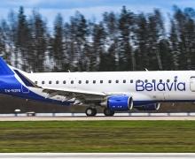 Белавиа, самолет Белавиа, самолет Белавиа, Эмбаер, Embraer-175, Гусаров