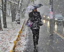 Дождь, мокрый снег, сильный ветер ожидаются в Беларуси