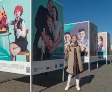 В Минске открылась фотовыставка о детях с инвалидностью в школе