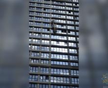 мчс, чп, стройка, оборвалась люлька, маяк минска, аэродромная, Стамбул, МЧС, падение с высоты, минск, 5 апреля