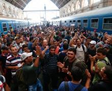 беженцы, мигранты, ЕС, Германия, Мерель, 2016 год
