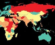 Беларусь опустилась в мировом рейтинге миролюбия сразу на 19 позиций