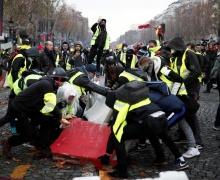 """протесты """"желтых жилетов"""""""