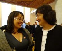 Анна Канопацкая и Елена Анисим