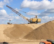 Виды строительного песка и применение материала