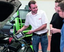 Новая функция KTS 250 – определение реального пробега автомобиля.