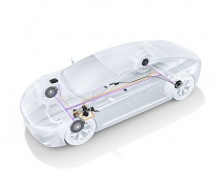 Тормозные компоненты Bosch для электромобилей