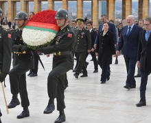 Визит Лукашенко в Турцию. Фото пресс-службы президента