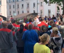 Забастовки начались в Беларуси