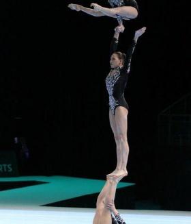 II Евроигры: первое белорусское золото выиграли акробатки