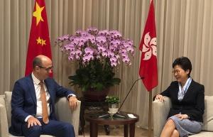Глава администрации Гонконга намерена посетить Беларусь в 2019 году