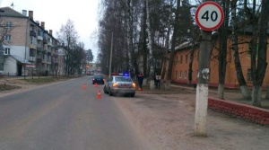 ДТП в Мачулищах. Фото ГАИ Минского района