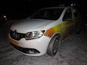 Нападение на таксиста. Управление ГКСЭ по Витебской области