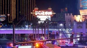 место расстрела в Лас-Вегасе