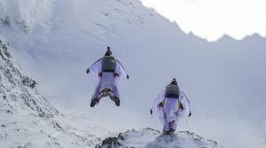 прыжок над Альпами