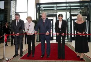 Открытие Дворца гимнастики. Фото пресс-службы президента