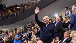 Лукашенко на турнире