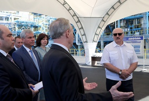 Александр Лукашенко, рабочая поездка в Витебскую область, Нафтан, Демидов, Нефть, компенсация