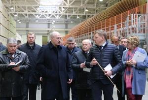 Александр Лукашенко, Кроноспан, рабочая поездка, нефть