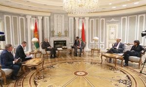 Александр Лукашенко, Дидье Рейндерс, ЕС, Беларусь, демократия, Бельгия